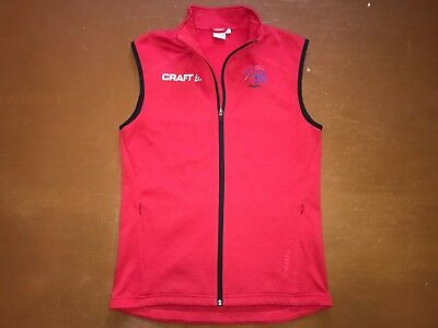 Langlaufjacke Trainingsjacke Weste Skiweste Ski Vest Biathlon Norway CRAFT Gr. M