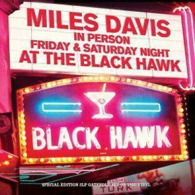 MILES DAVIS Friday And Saturday Night At The Black Hawk DOUBLE LP VINYL Europe