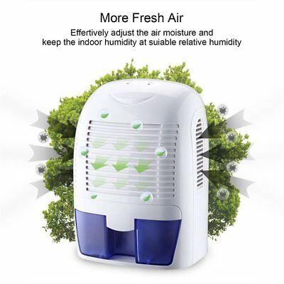 Removable Quiet Mini Compact 1500ml Thermo-Electric Dehumidifier