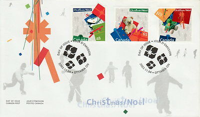 Canada #2004-2006 Christmas Gifts First Day Cover