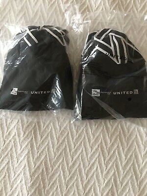 Two Sealed United Airlines Domestic Business First Amenity Kits - Saks Fifth Ave