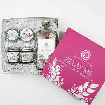 The Physic Garden - Relax Me Skincare Collection