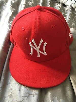 New Yorkers Cap Red 6 5/8 53cm