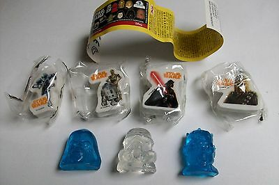 Zaini STAR WARS FIGURINE : 7 FIGURINES + 7 BPZ