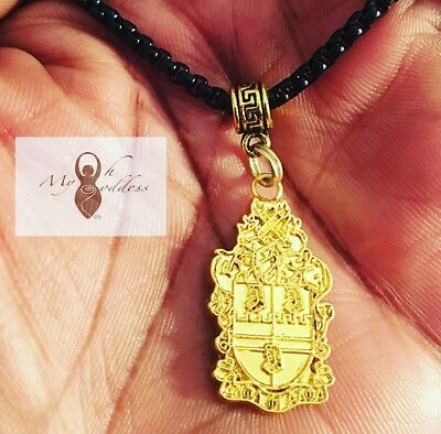 Alpha Phi Alpha Inspired Pendant Necklace