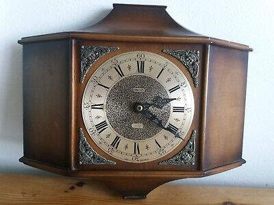 Vintage Smiths Sectronic Battery Wall Clock