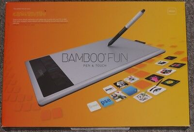 Wacom Bamboo Create Pen and Touch Tablet CTH670S, neu, OVP