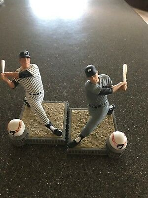 Two Mickey Mantle figurines