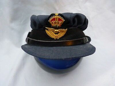 RAF, WAAF WW2 Pattern Officer's Service Dress Hat. Size 57, 7&1/8th.