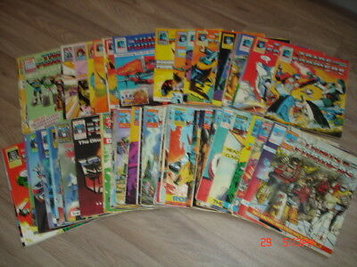 VINTAGE 1980s MARVEL TRANSFORMERS COMICS EARLY ISSUES X 63 JOB LOT ! ! !