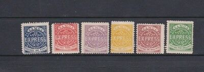 Early Samoa M/Mint Express Stamps