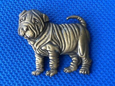Marked 1986 SHAR PEI PIN Super cute with Awesome Detail