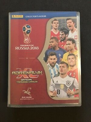 Album Adrenalyn Xl World Cup Russia 2018 Cards ( 1-462 )
