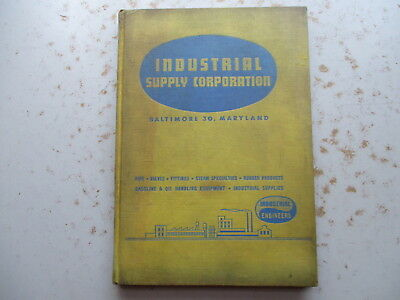 Industrial Supply Corporation Hardcover Catalog 1955