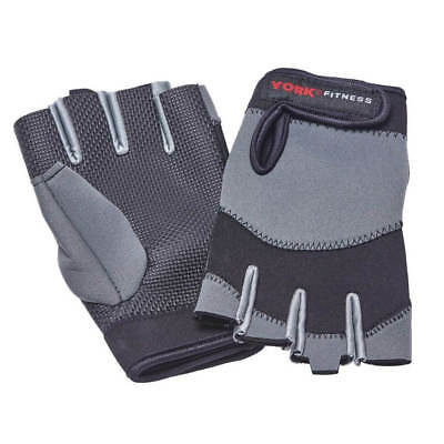 York Neoprene Weight Lifting Gloves Gym Training Bodybuilding Exercise Workout