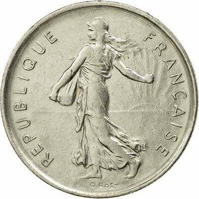 [#533934] Monnaie, France, Semeuse, 5 Francs, 1970, Paris, TTB, Nickel Clad