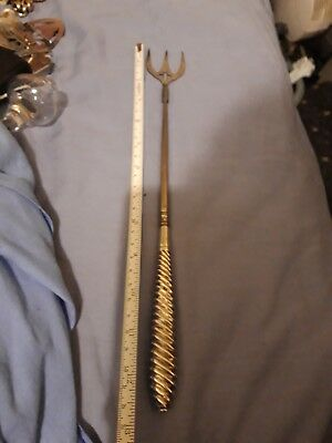 Antique Silver Handled Toasting Fork