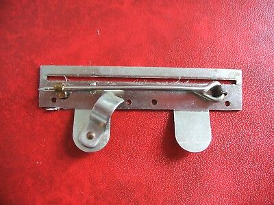 Firmin Medal Mounting Brooch Bar For Two Full Size Medals With 32mm Ribbons FS2A