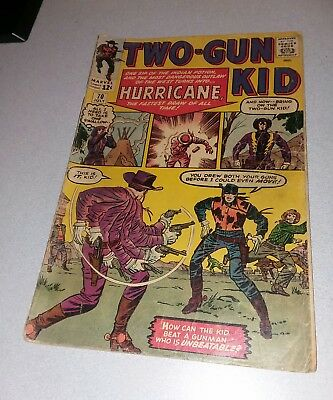 Two-Gun Kid #70 Marvel comics 1964 Western Silver Age 1st appearance hurricane!