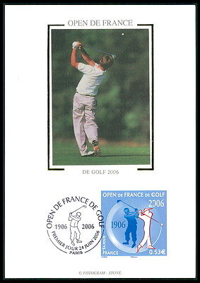 FRANCE MK 2006 GOLF SPORT SPORTS MAXIMUMKARTE CARTE MAXIMUM CARD MC CM be43