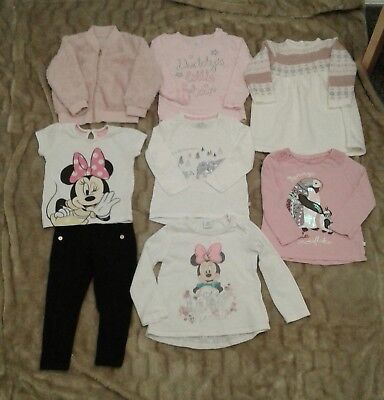 Baby toddler girls clothes bundle 18-24 months