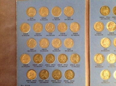 Buffalo & Jefferson Nickel Book Collections 1913-1961