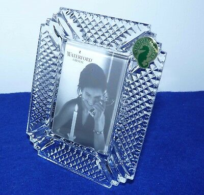 "Waterford Crystal ""Makefield"" Crystal Glass Picture/Photo Frame New in box"