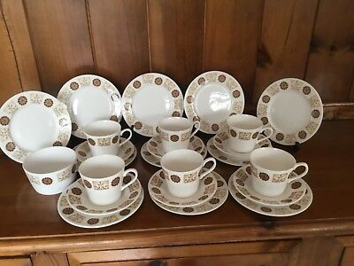 Royal Vale Autumn Collection Teaware Pattern 8216 25pce Teaset