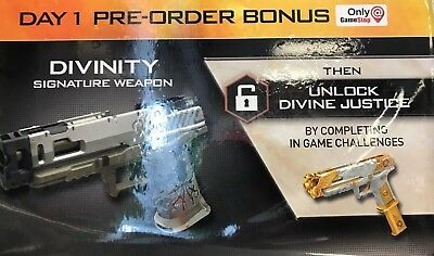 Call Of Duty Black Ops 4 Divinity Gun DLC (PS4 XBONE PC) Region Free