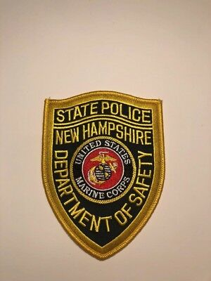 New Hampshire State Police, Marine Corps, Military patch