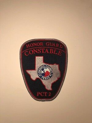 Texas State Police, Honor Guard, Harris County Sheriff, Constable patch
