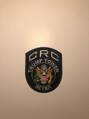 New York State Police, NYPD, Trump Presidential Unit patch