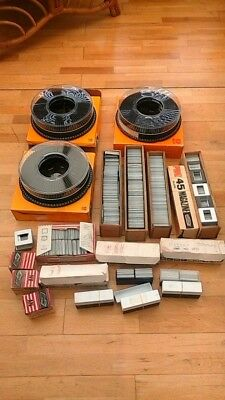Joblot Kodak Carousel Sav200 X3 And Numerous Slide Mounts