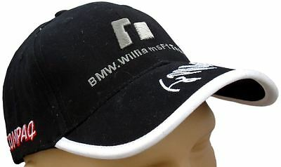 Bmw Williams F1 Team Black Hat Baseball Cap Cotton Embroidered Montoya 5 12d8868162
