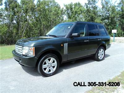 2005 Range Rover HSE 4x4 Carfax certified Excellent condition 2005 Land Rover Range Rover HSE 4x4 Carfax certified Excellent condition