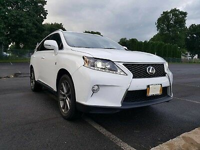 2014 Lexus RX RX350 F-Sport AWD 2014 14 Lexus RX350 RX 350 F-Sport AWD 4WD F Sport SUV Crossover Loaded Clean!!!