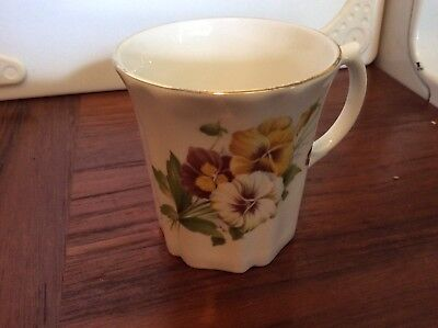 Royal Grafton Fine Bone China England Coffee Mug Cup Tea Floral 2