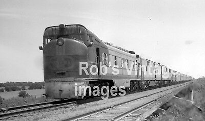 Santa Fe Railroad  Photo The Chicagoan The Kansas Cityan Box Cab Budd EMC Power