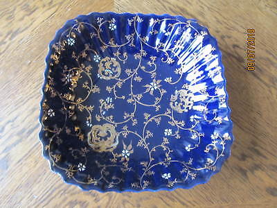 """Vintage Antique Hand Painted Japanese Bowl 9 1/2"""" Wide x 2 1/2"""" Tall"""