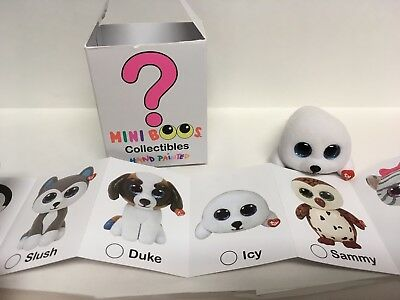 f97b4036ccc TY Beanie Boos - Mini Boo Collectible Figures - ICY the White Seal (2 inch