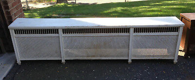 Radiator Cover - Rare, Vintage Hart & Cooley, Furniture style with Hinged lid.