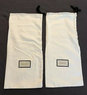 Authentic Gucci Dust Bags, Set Of 2, 17in X 8in