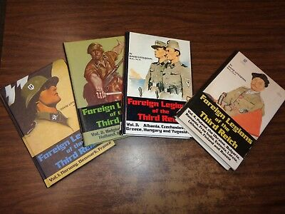 Foreign Legions Of The Third Reich - Littlejohn - 4 Vol Set  Sgn & #ed
