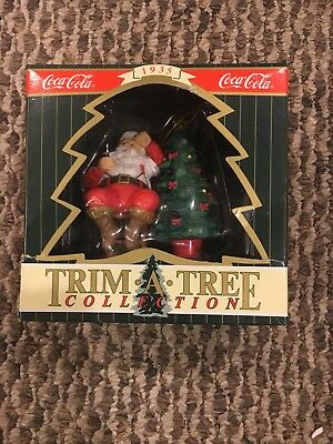 Vintage Coca Cola Christmas Tree Ornament