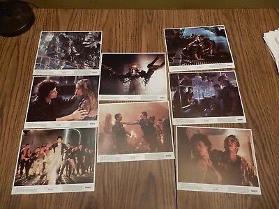 Aliens Lobby Cards - Complete Set of 8