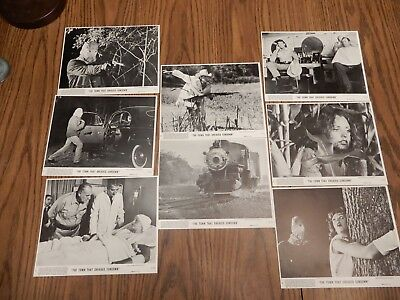 The Town that Dreaded Sundown Lobby Cards - Complete Set of 8