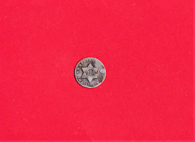 1851 O  3 Cents Silver,smallest Silver Coin Ever Minted,167 Years Old