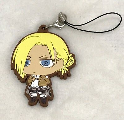 Attack on Titan or Shingenki no Kyojin, Annie Leonhart Rubber Phone Strap Charm