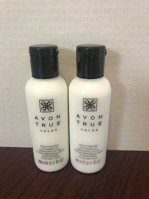 *Lot of 2* AVON True Color EYE MAKEUP Remover Moisturizing Lotion FRESH