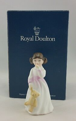 """4 1/2"""" Royal Doulton Figurine Daddy's Girl HN3435 Excellent Condition"""
